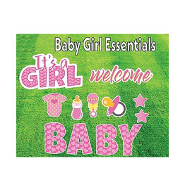"Rental Yard Card ""It's a Girl"" - Store Pick Up ONLY"