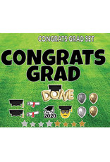 "Rental Yard Card ""Congrats Grad"" - Store Pick Up ONLY"
