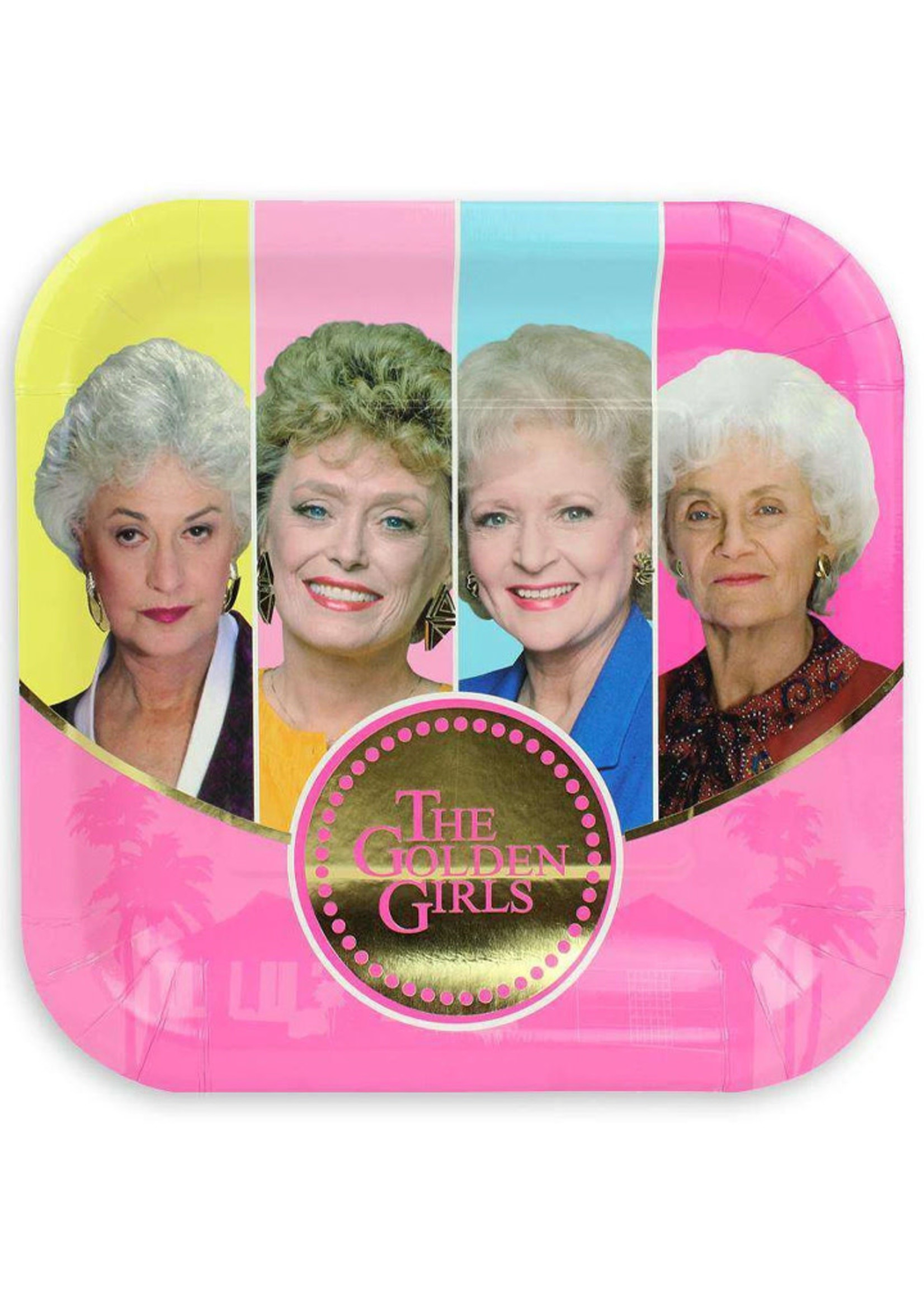 PRIME PARTY Golden Girls Dinner Plates (8 Pack)