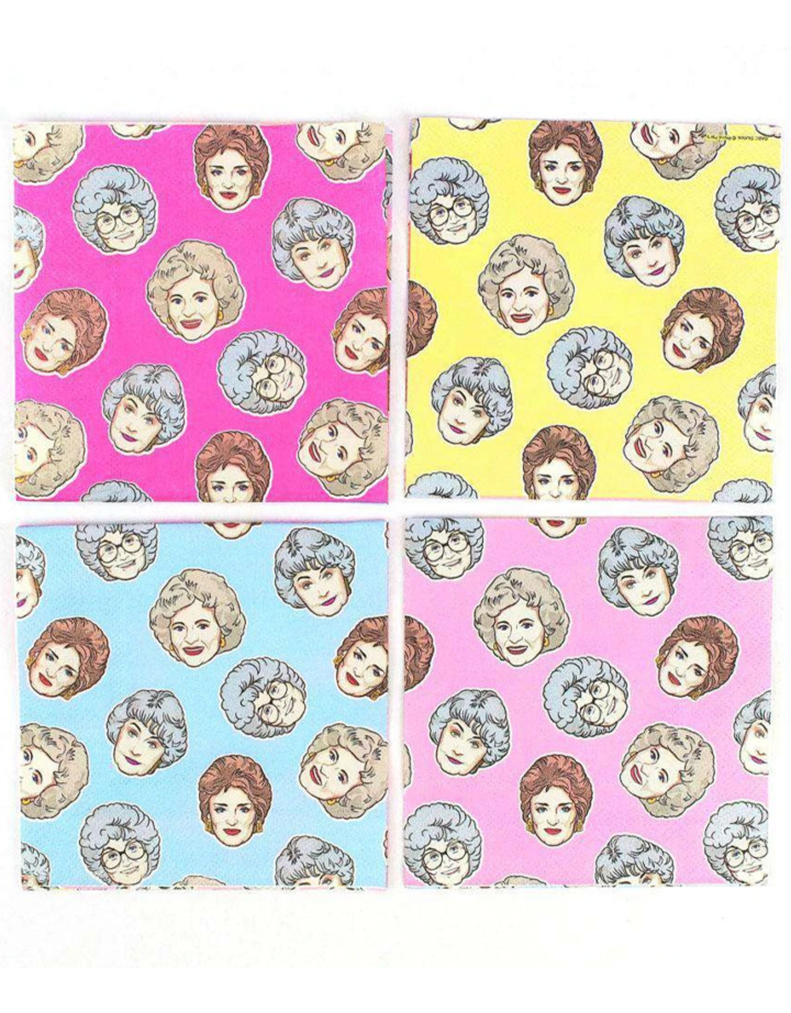 PRIME PARTY  Golden Girls Beverage Napkins (16 Pack)