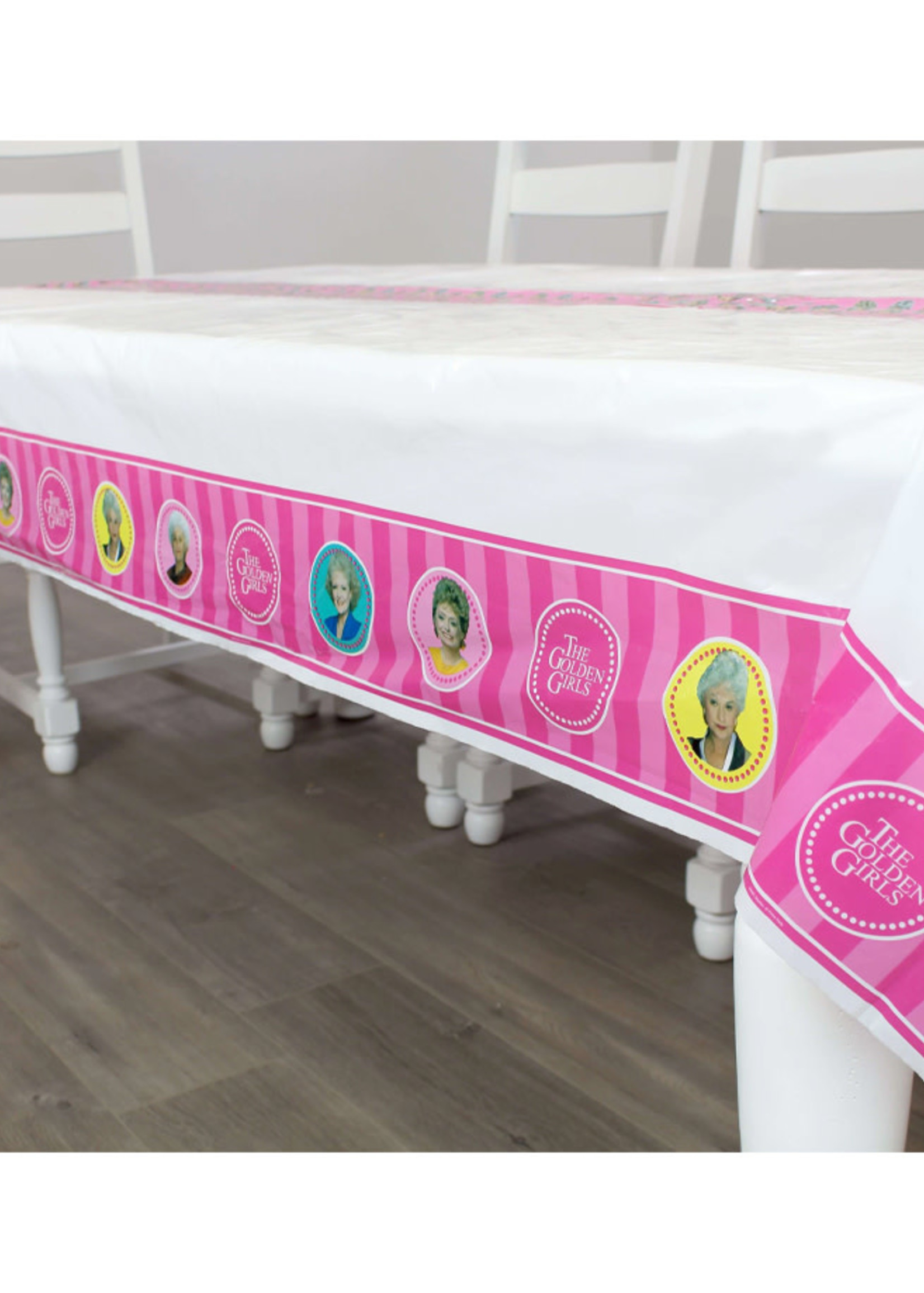 PRIME PARTY Golden Girls Plastic Table Cover