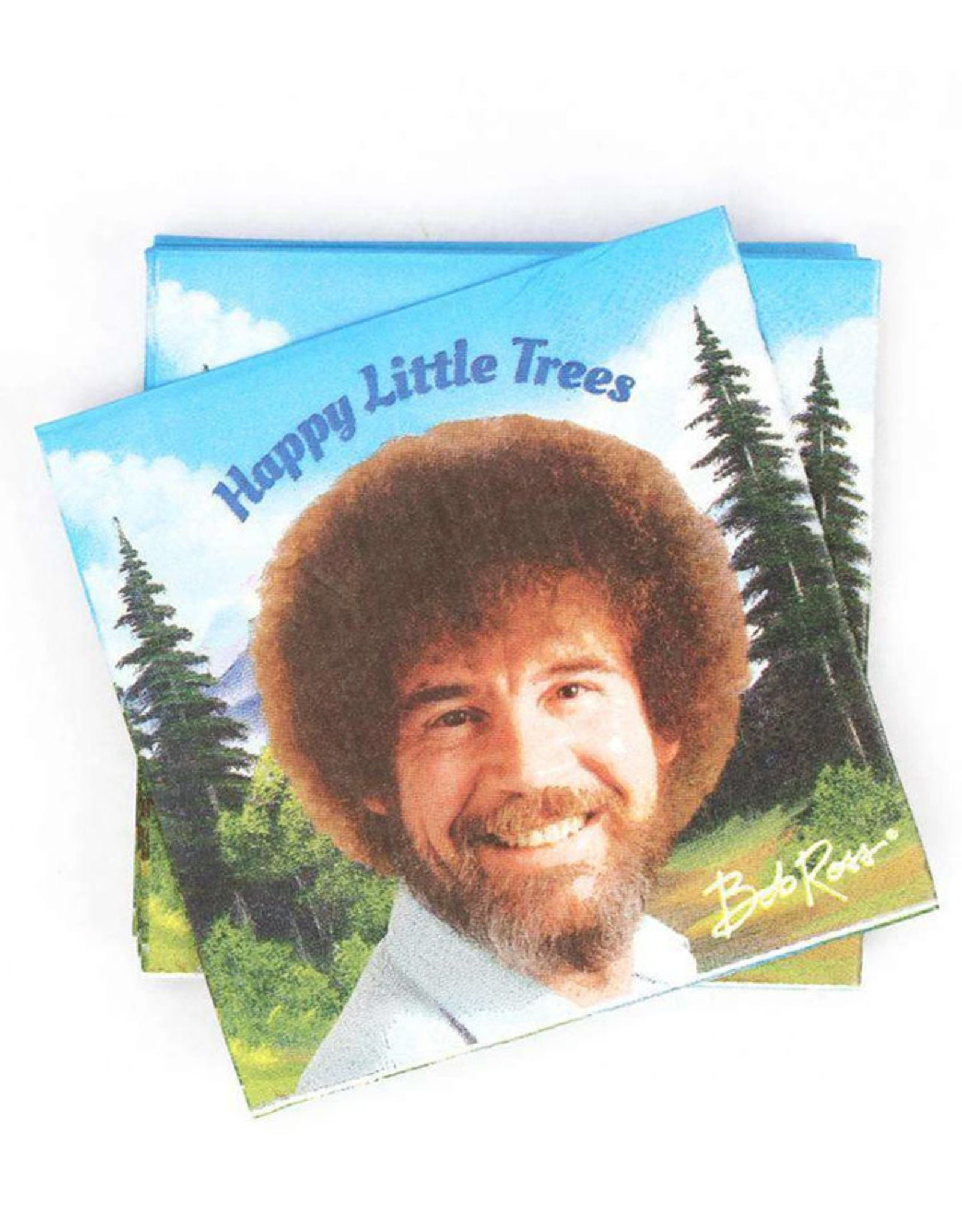 PRIME PARTY Bob Ross Classic Beverage Napkins (20 pack)