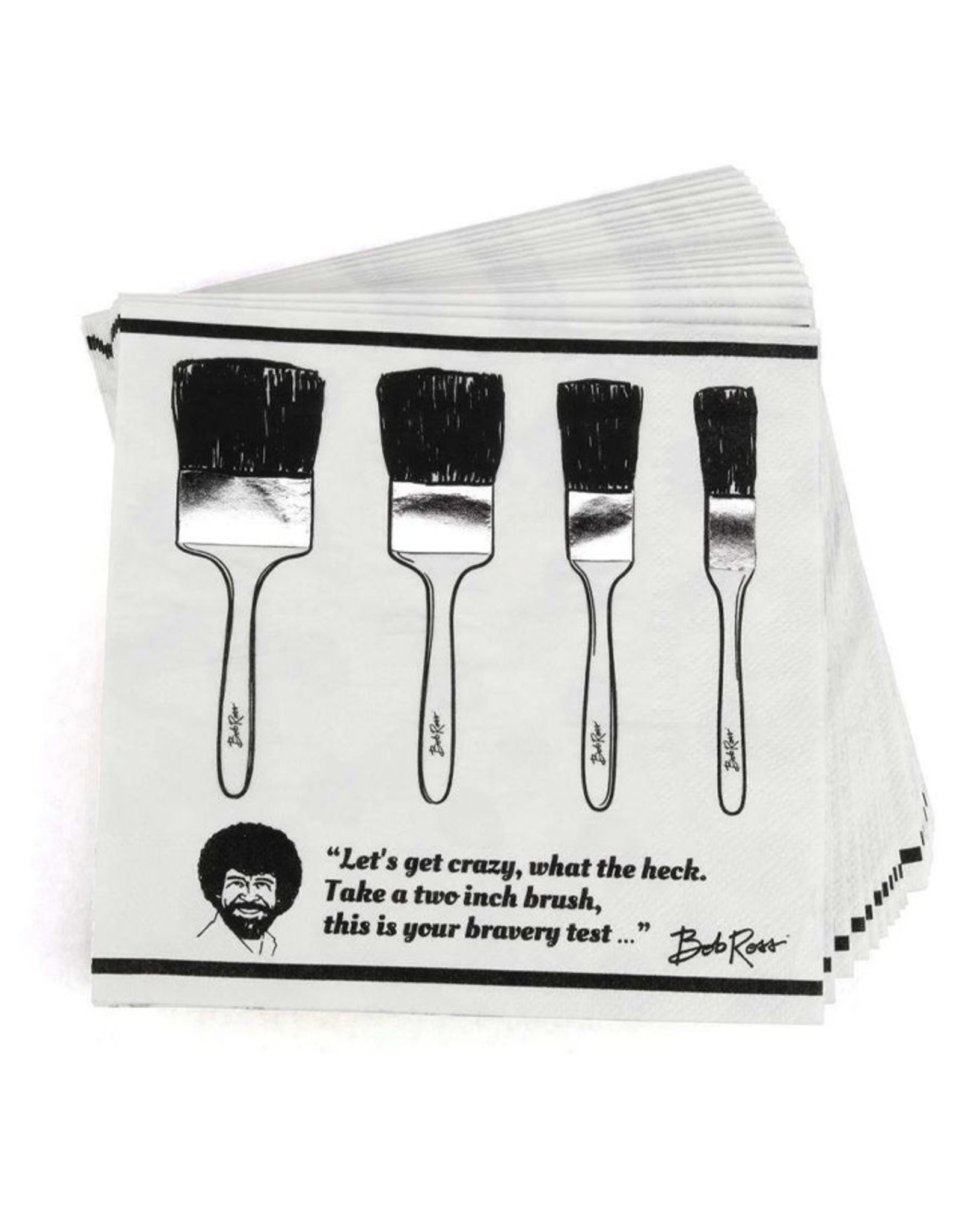 PRIME PARTY Bob Ross Classic Luncheon Napkins (20 Pack)