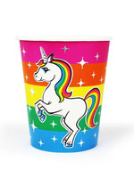 PRIME PARTY Rainbow Unicorn 9oz Cups (8 Pack)