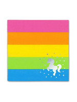 PRIME PARTY Rainbow Unicorn Beverage Napkins (20 Pack)
