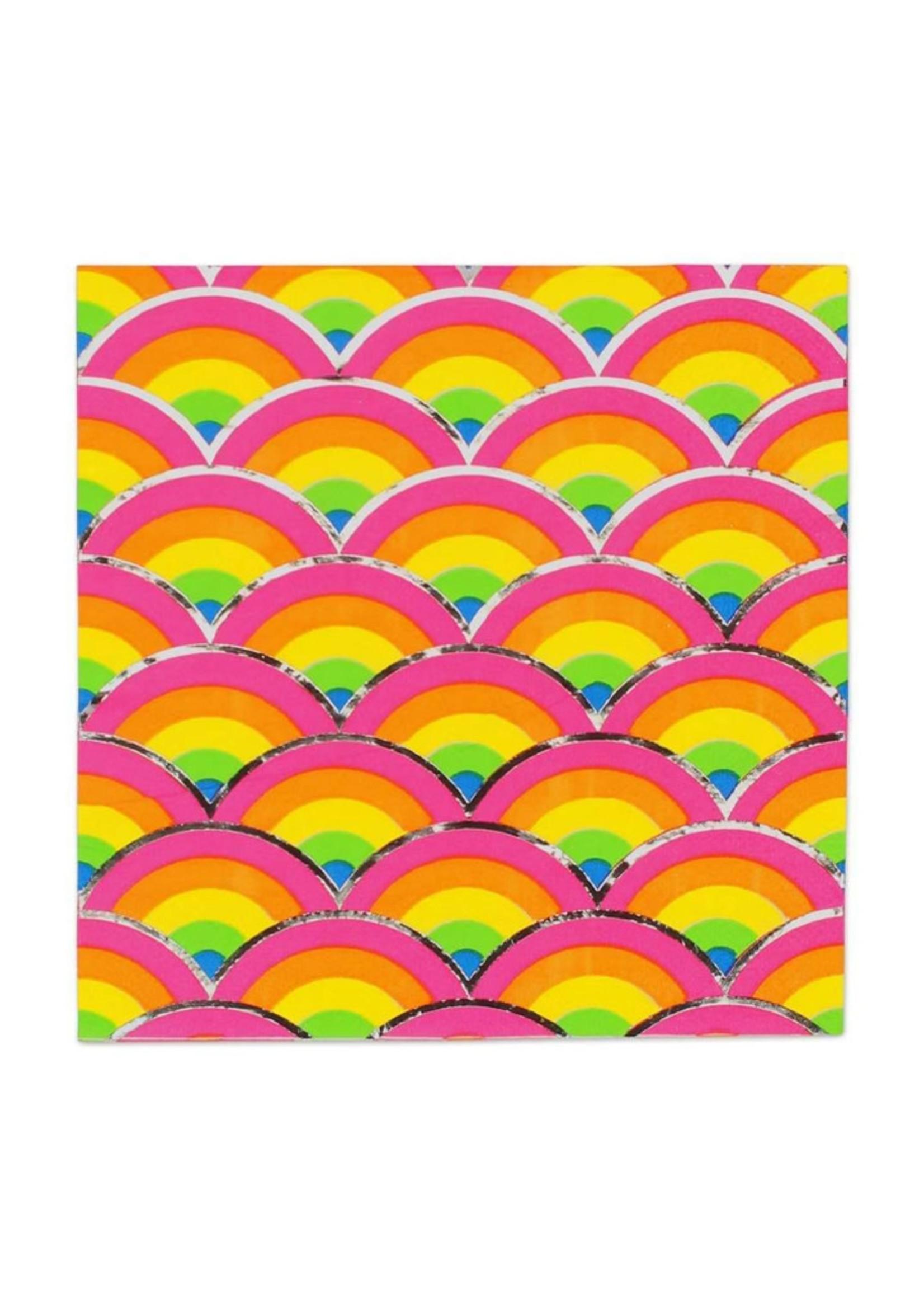 PRIME PARTY Rainbow Unicorn Luncheon Napkins (20 Pack)