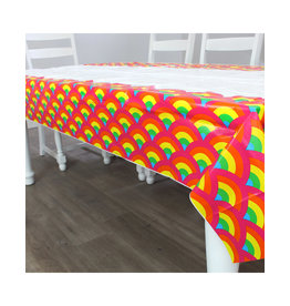 PRIME PARTY Rainbow Unicorn Table Cover