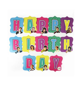 PRIME PARTY 90210 Birthday Banner Sign