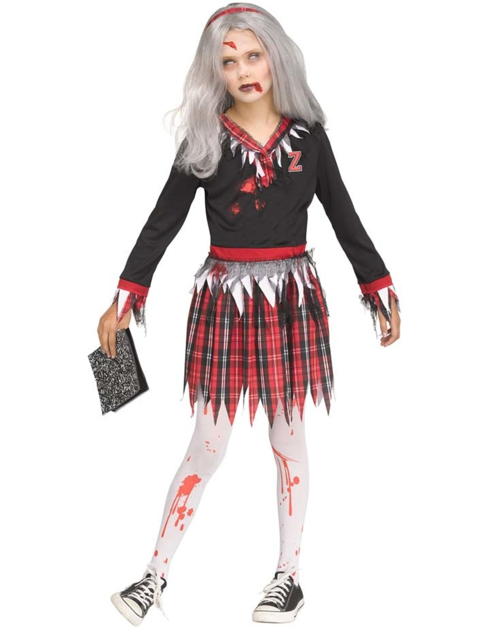 FUN WORLD Zombie School Girl - Girls