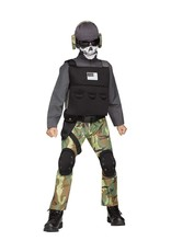 FUN WORLD Skull Soldier - Boys