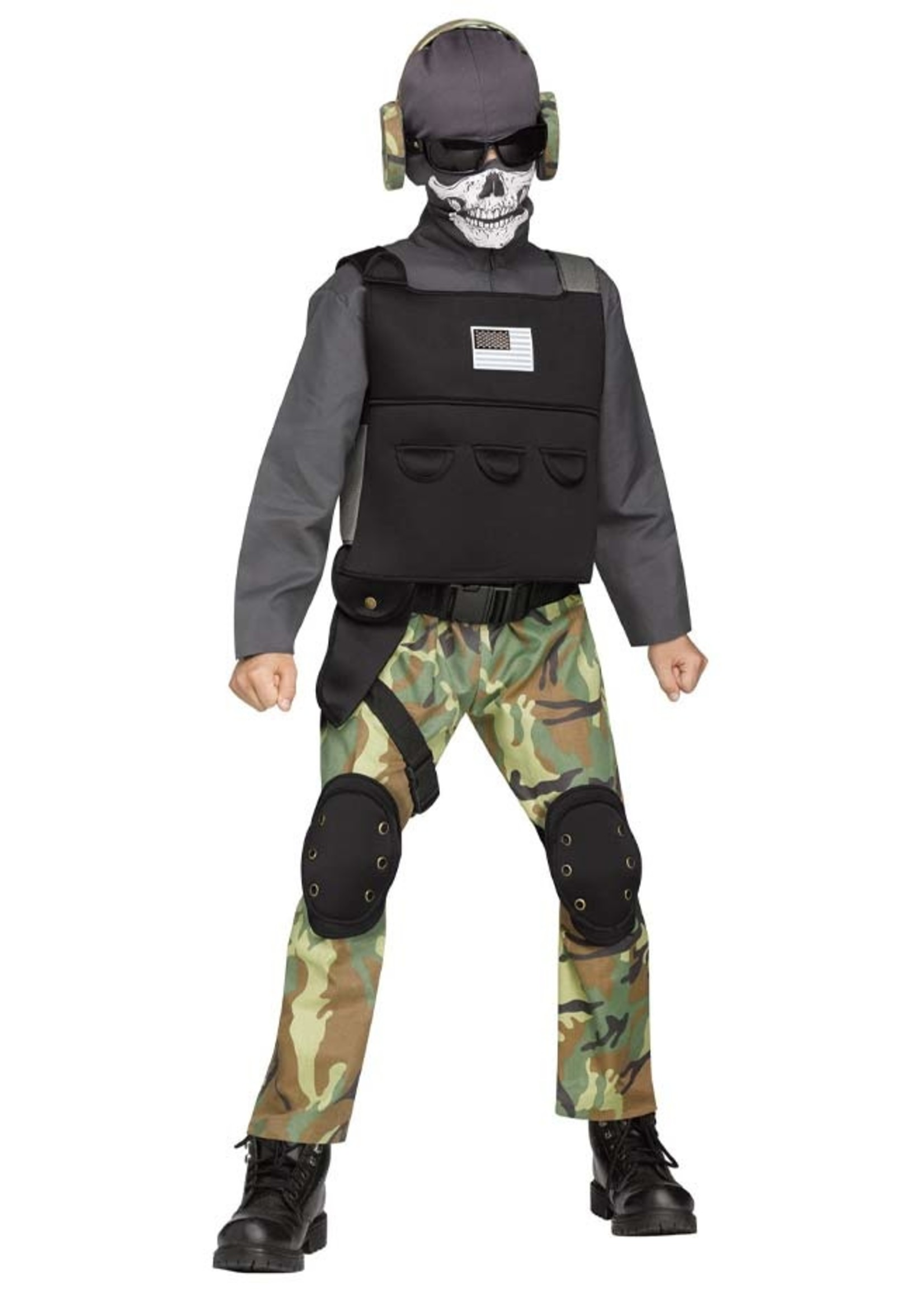FUN WORLD Skull Soldier - Boys