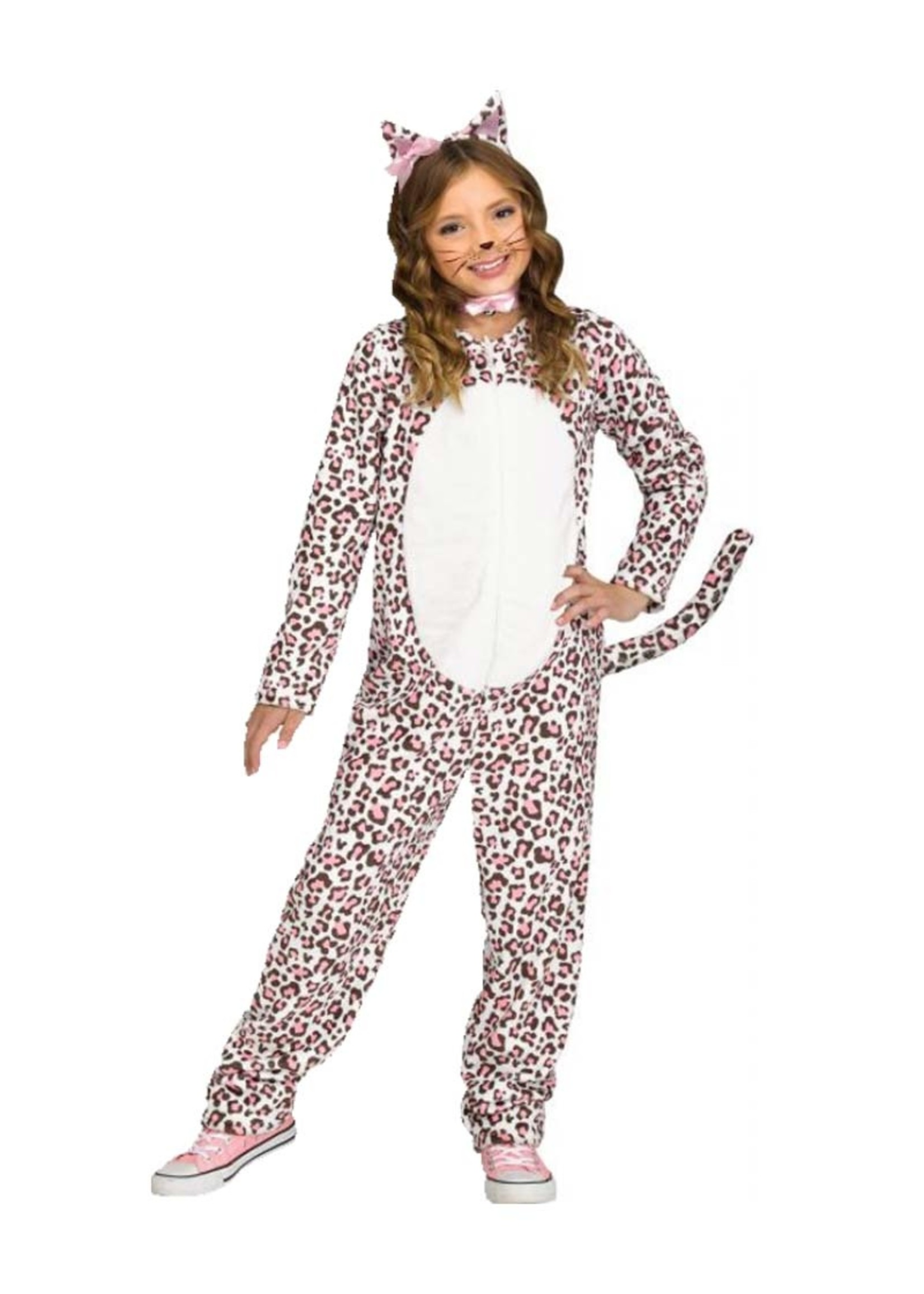 FUN WORLD Rose Gold Leopard - Girls
