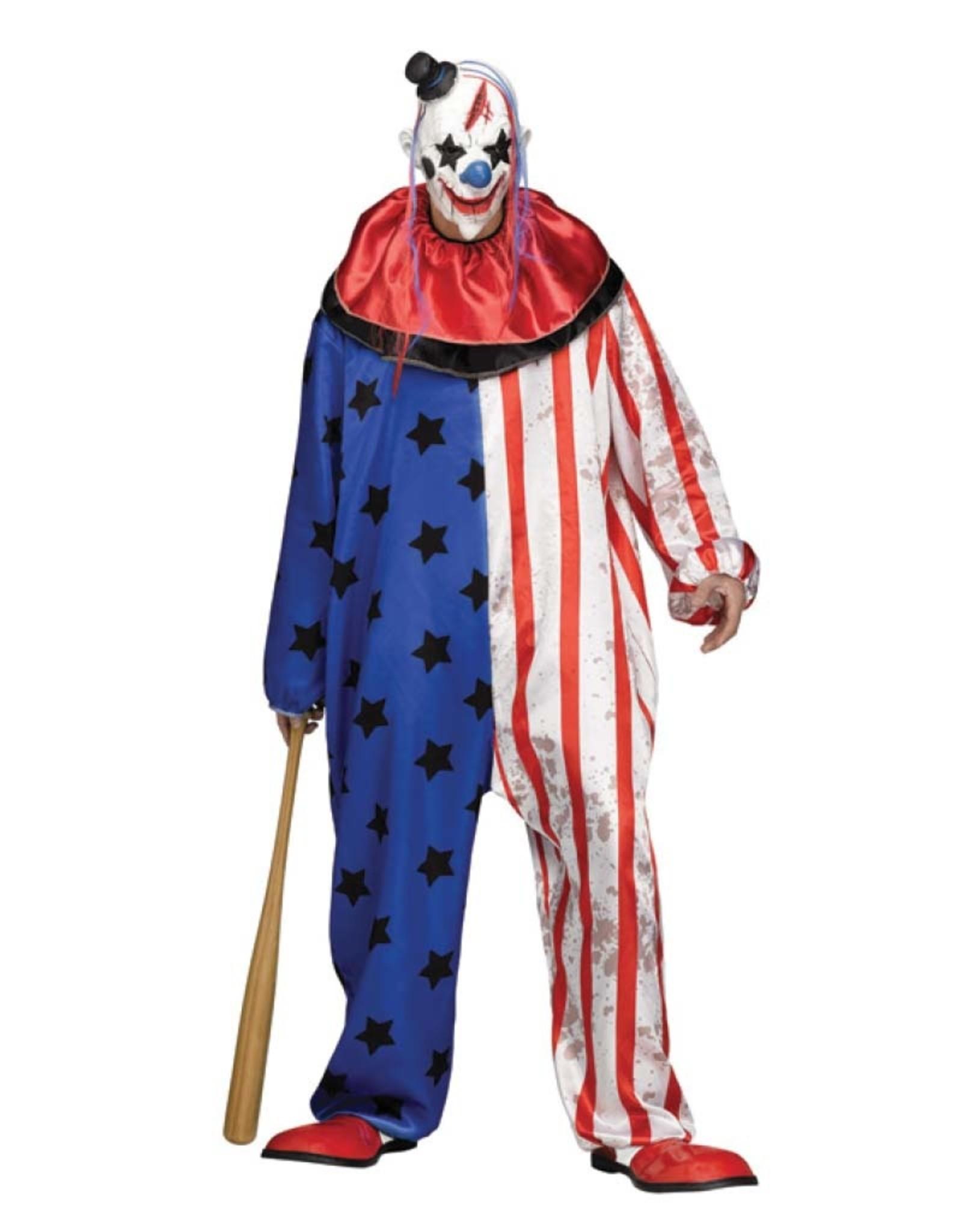 FUN WORLD Evil Clown - Men's Plus