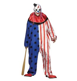 FUN WORLD Evil Clown - Men's Plus