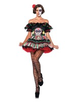 LEG AVENUE Day of the Dead Doll - Women's
