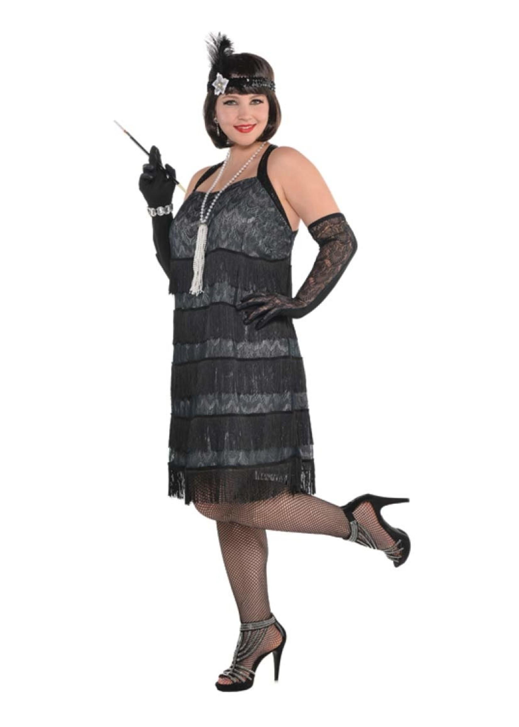 Lace Flapper - Women's Plus