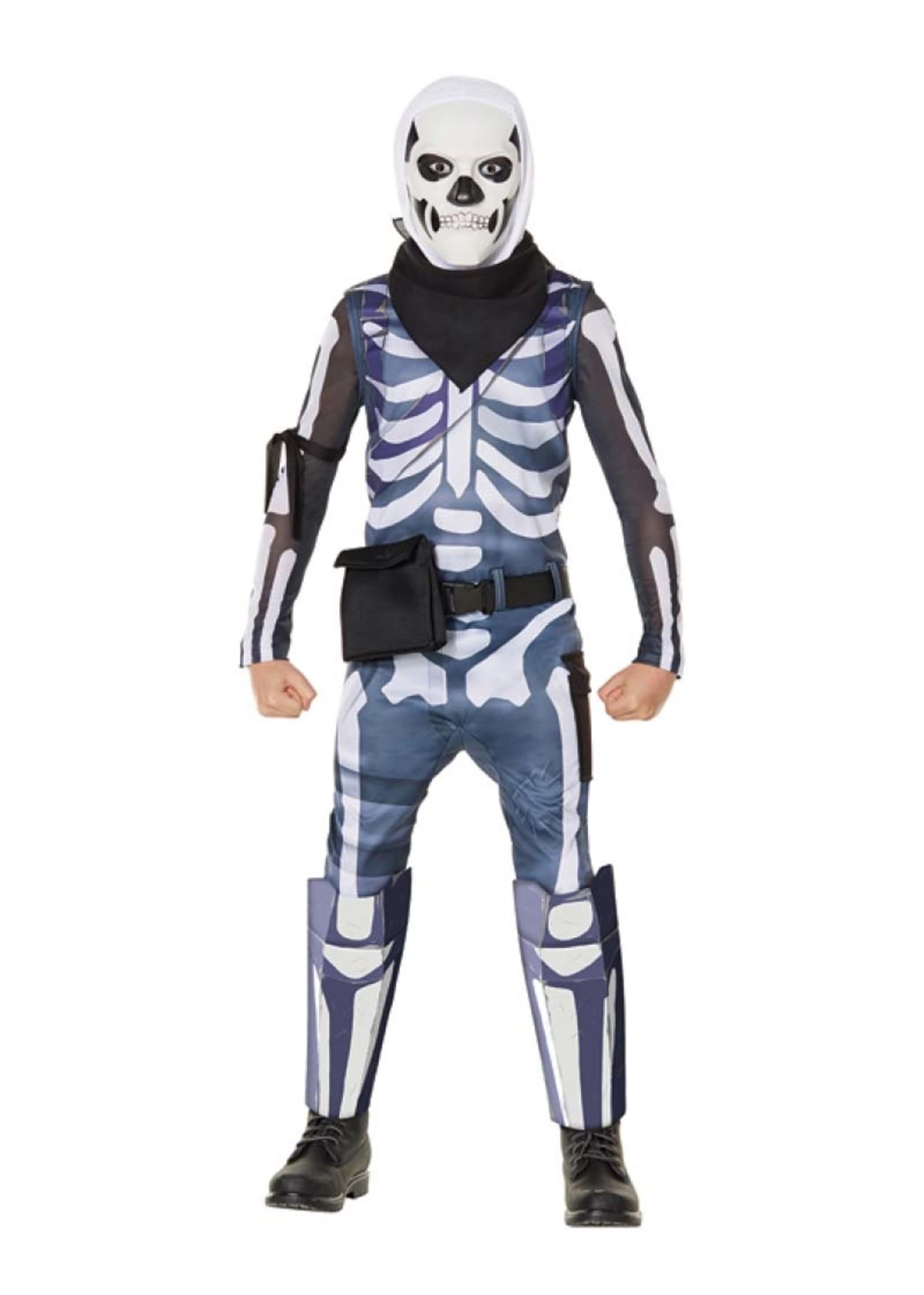 FUN WORLD Fortnite Skull Trooper - Boys