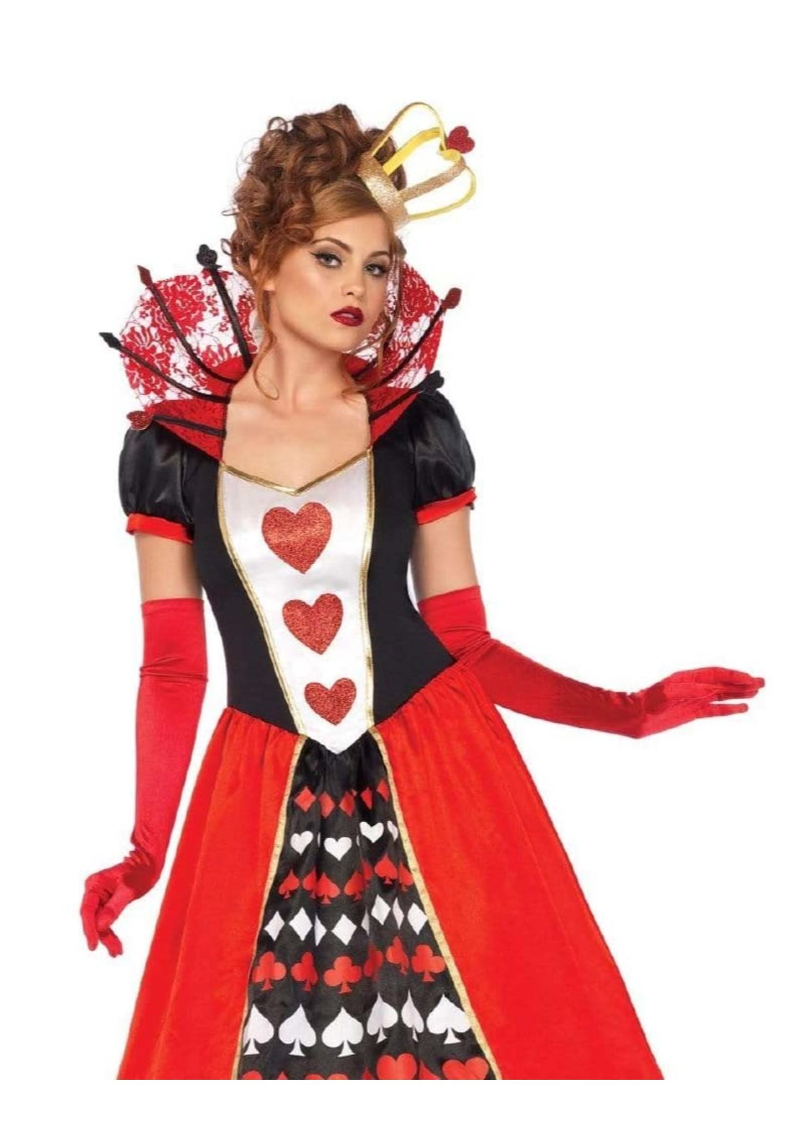LEG AVENUE Deluxe Queen of Hearts - Women's