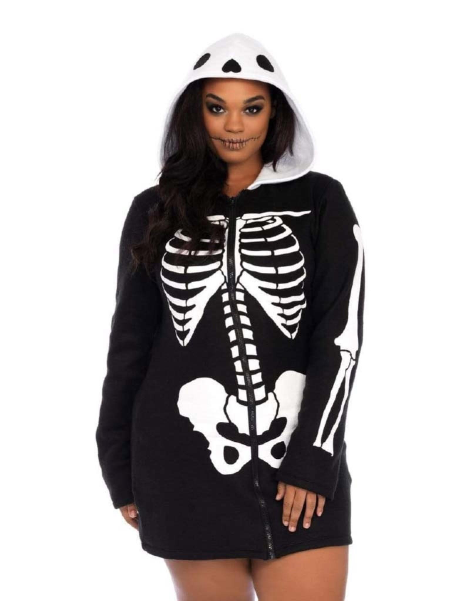 LEG AVENUE Cozy Skeleton - Women's