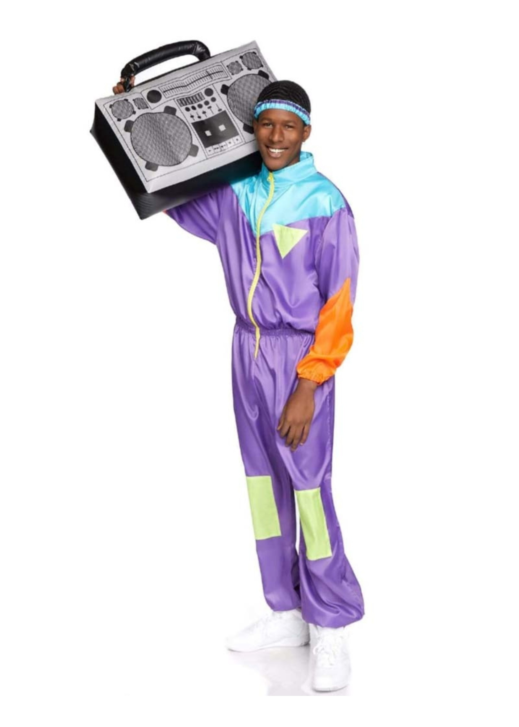 LEG AVENUE Awesome 80's Track Suit - Men's