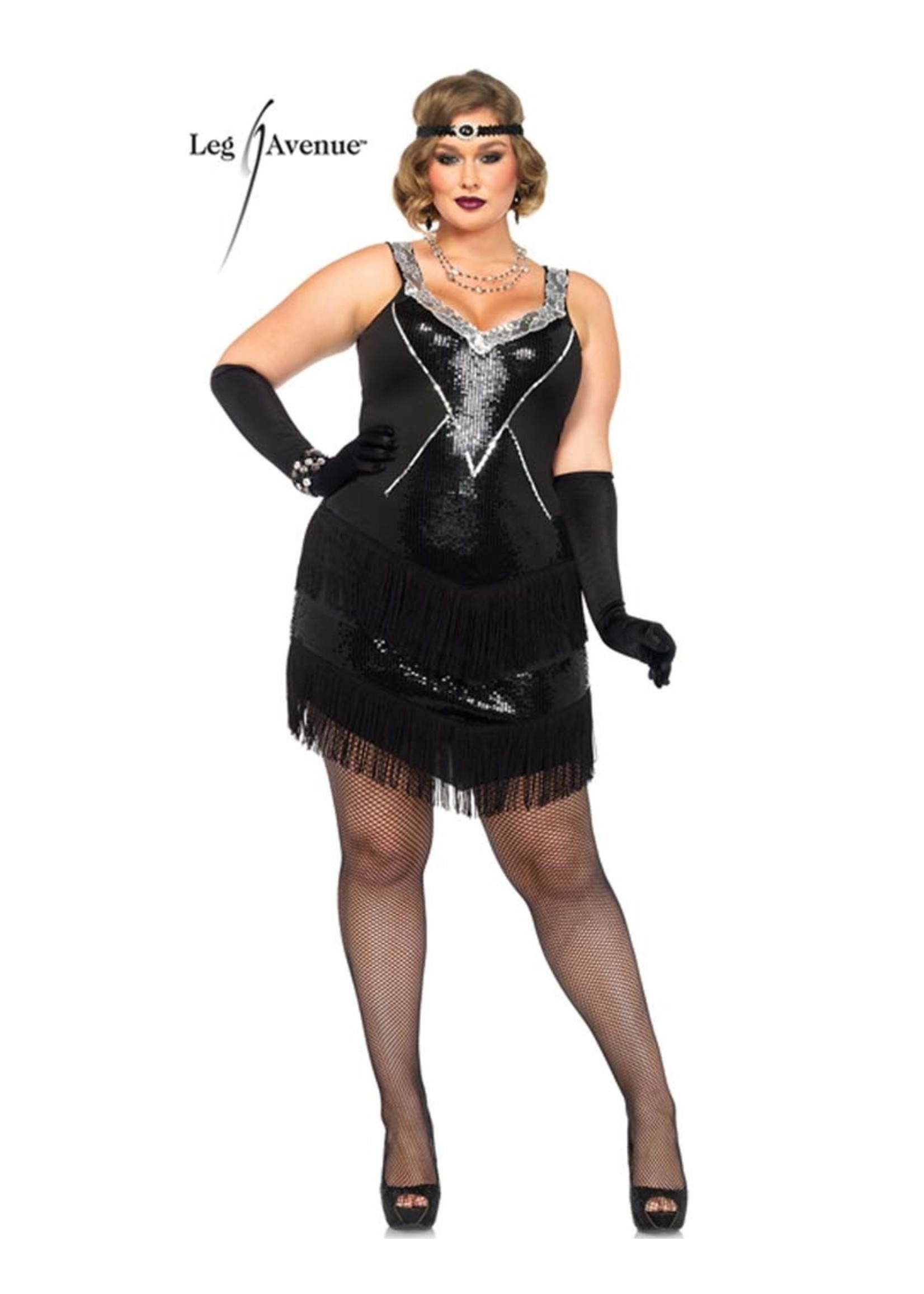 LEG AVENUE Glamour Flapper - Women's Plus