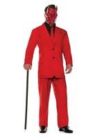 UNDERWRAPS Red Pinstripe Suit - Men's