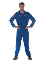 UNDERWRAPS Blue Flight Suit - Men's