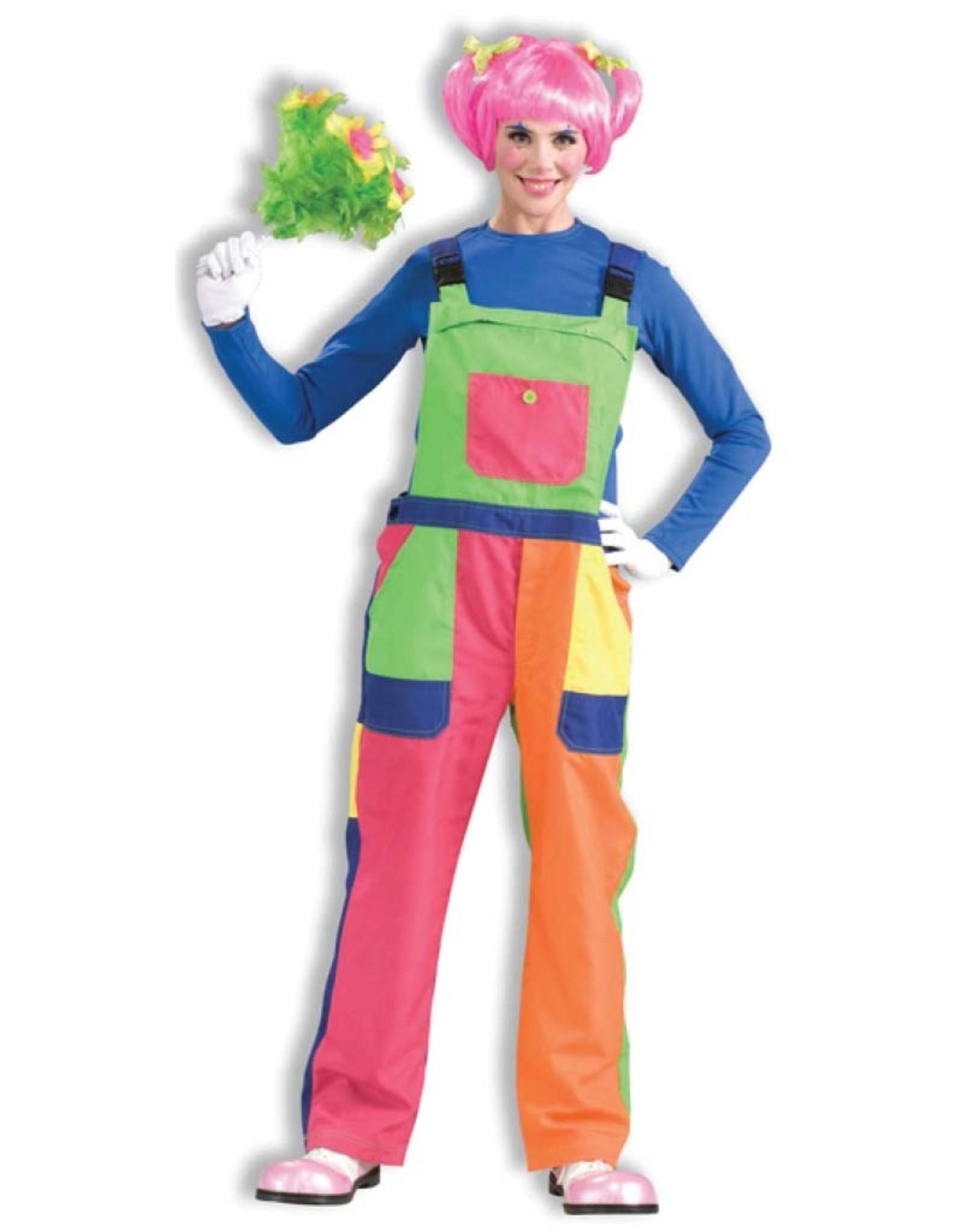 FORUM NOVELTIES Clown Overalls - Adult