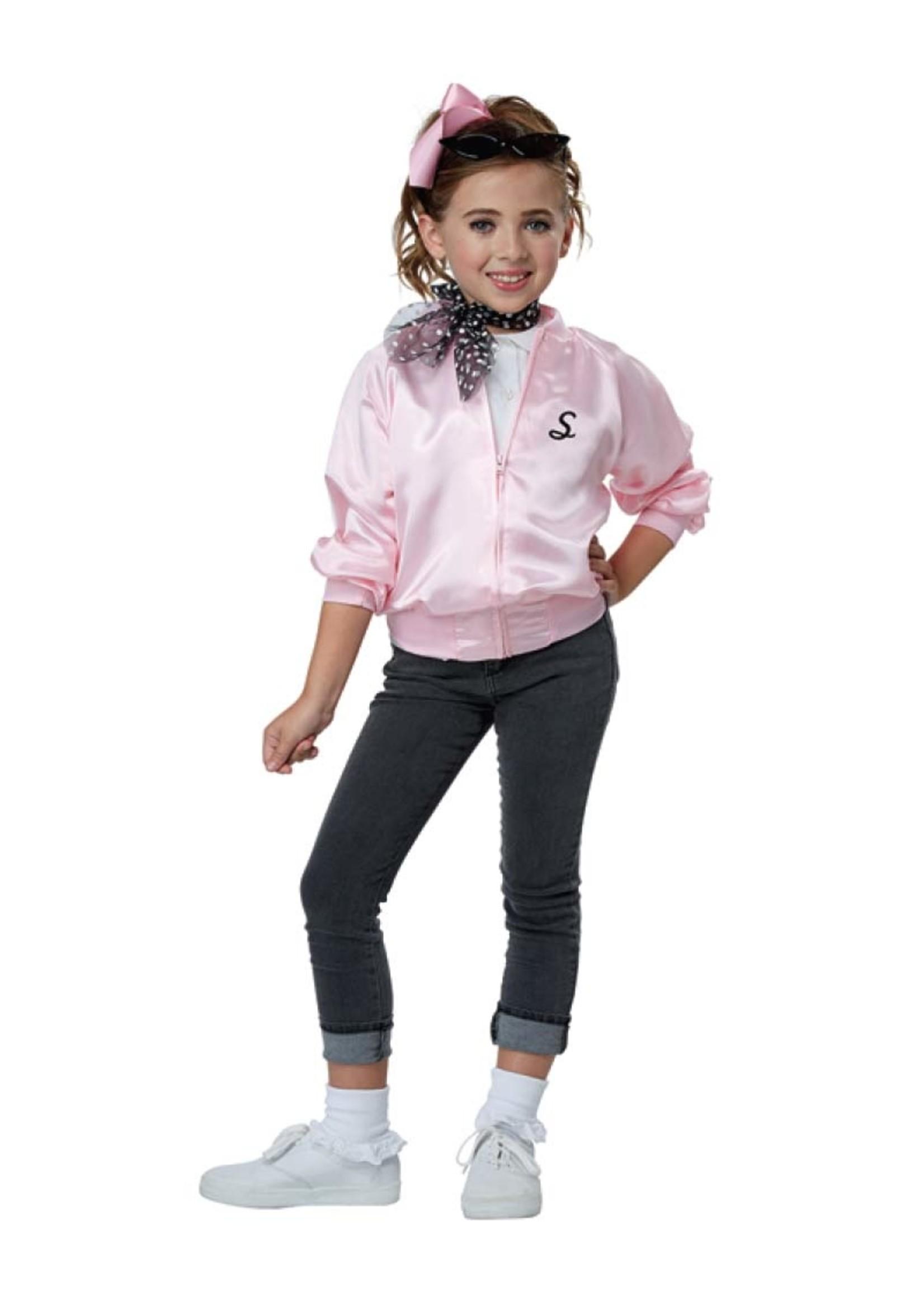 Pink Varsity Jacket - Girl's