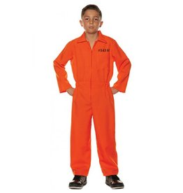 UNDERWRAPS Prisoner Jumpsuit - Boys