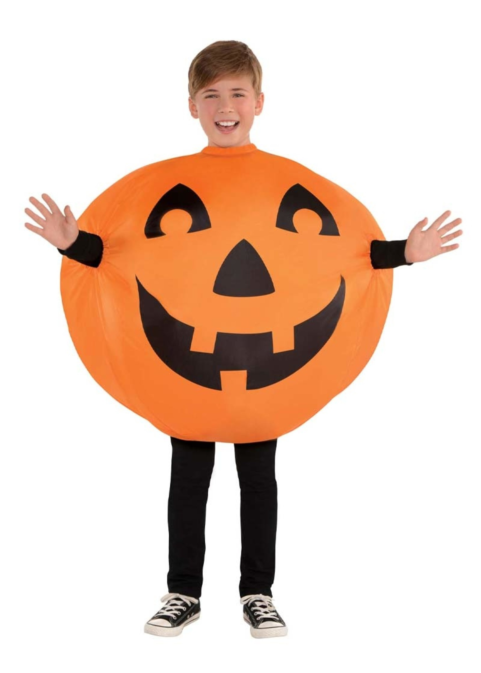 Inflatable Jack-O-Lantern - Boys