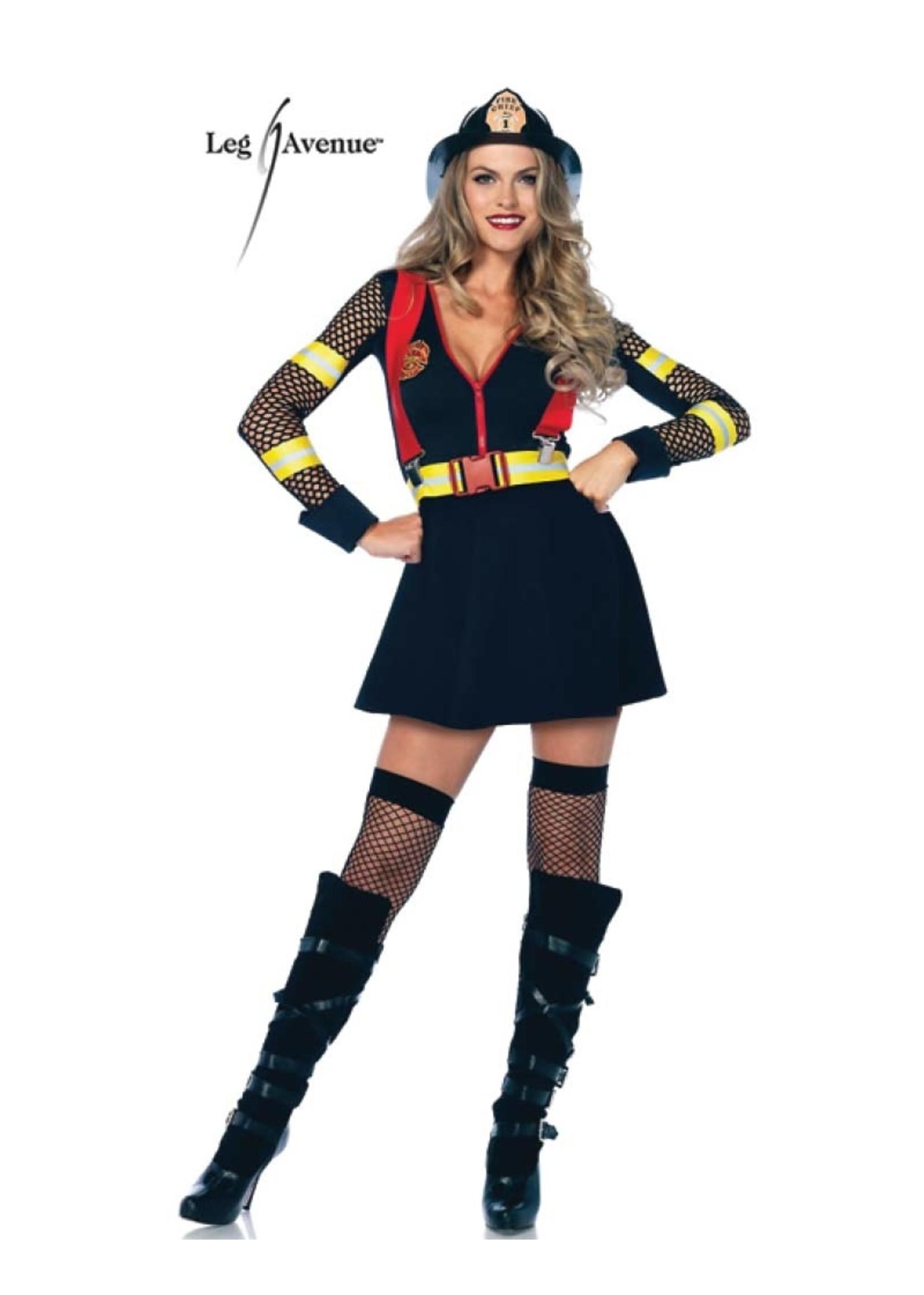 Red Hot Fire Captain - Women's