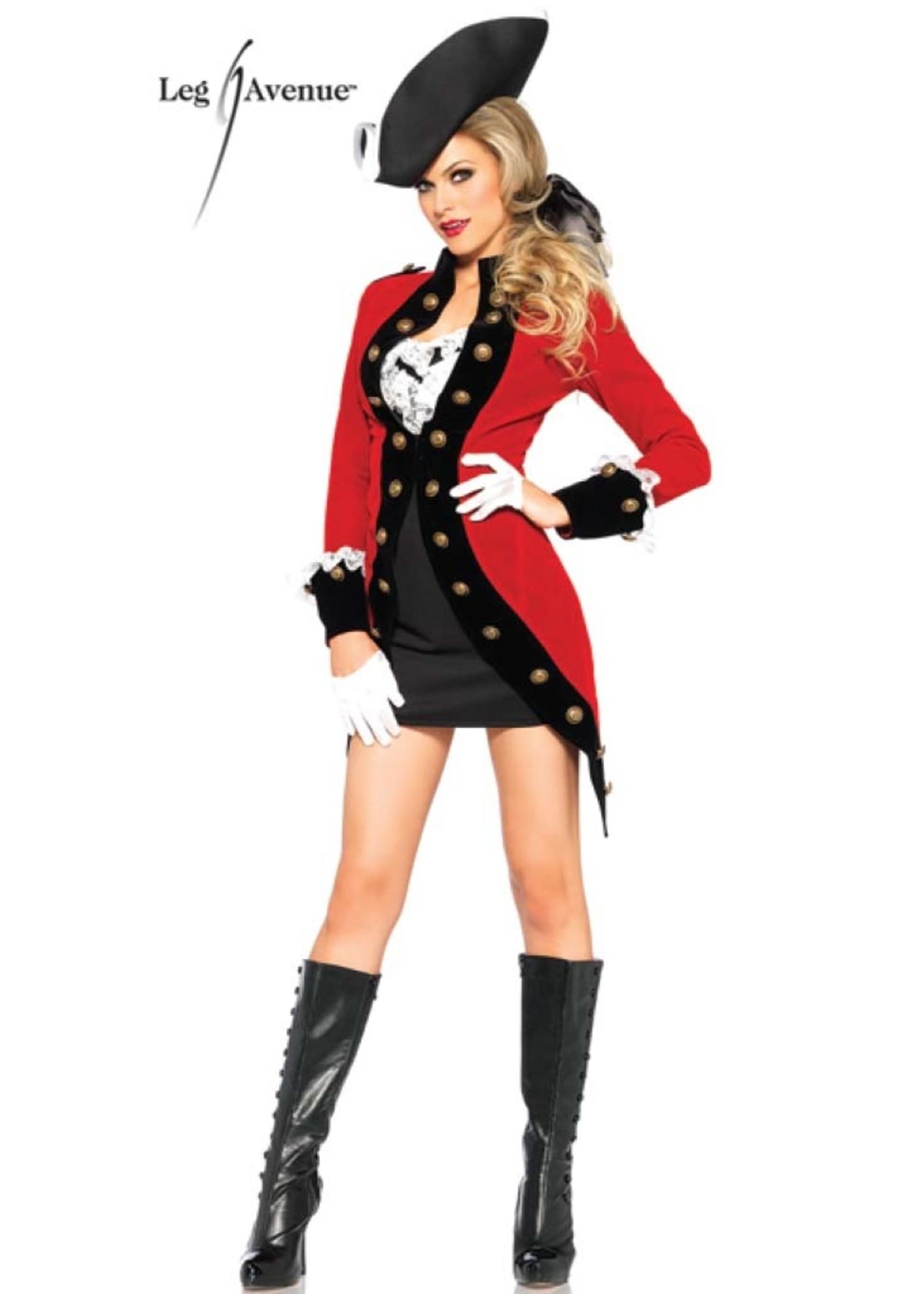Rebel Red Coat - Women's