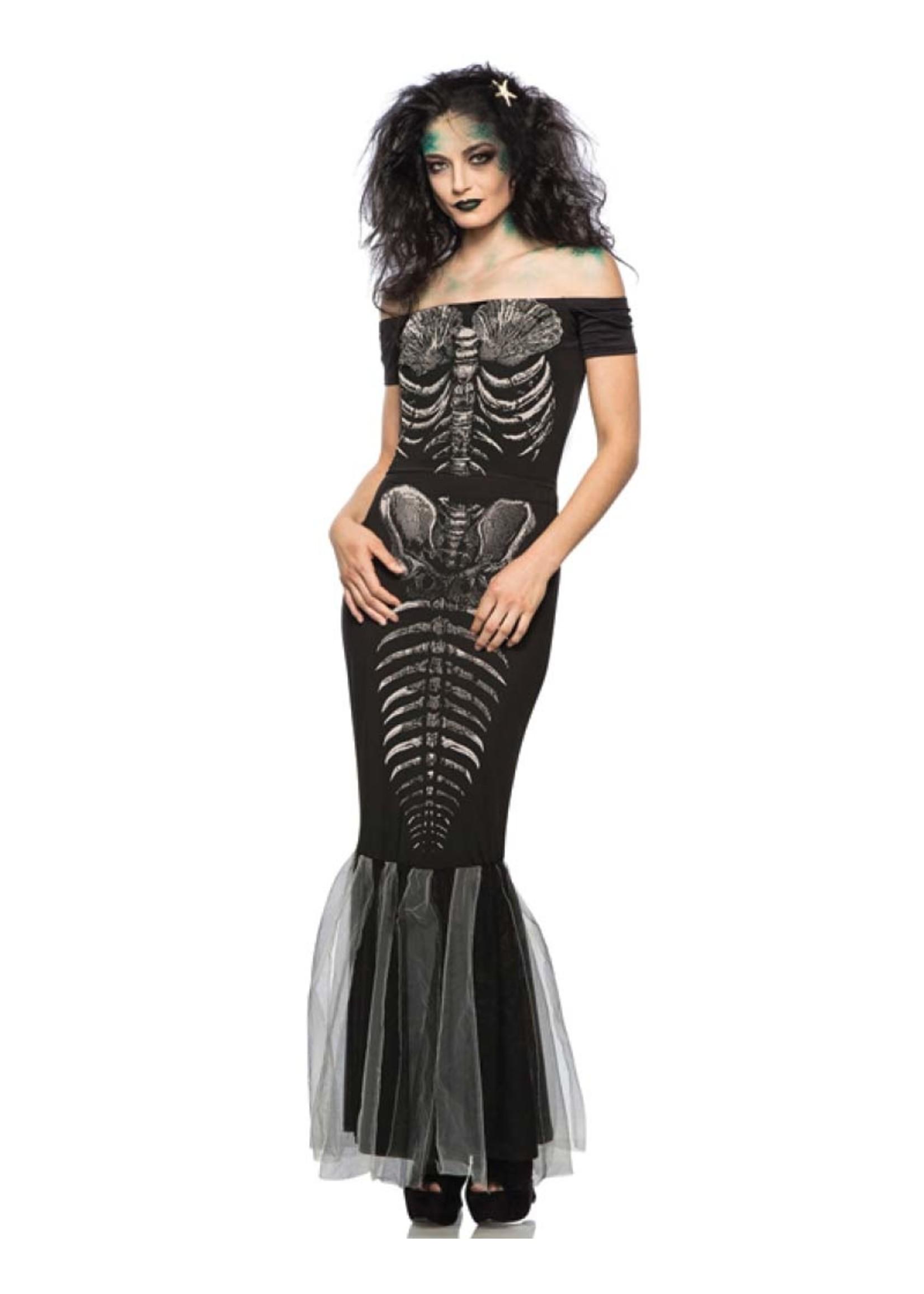 Skeleton Mermaid - Women's