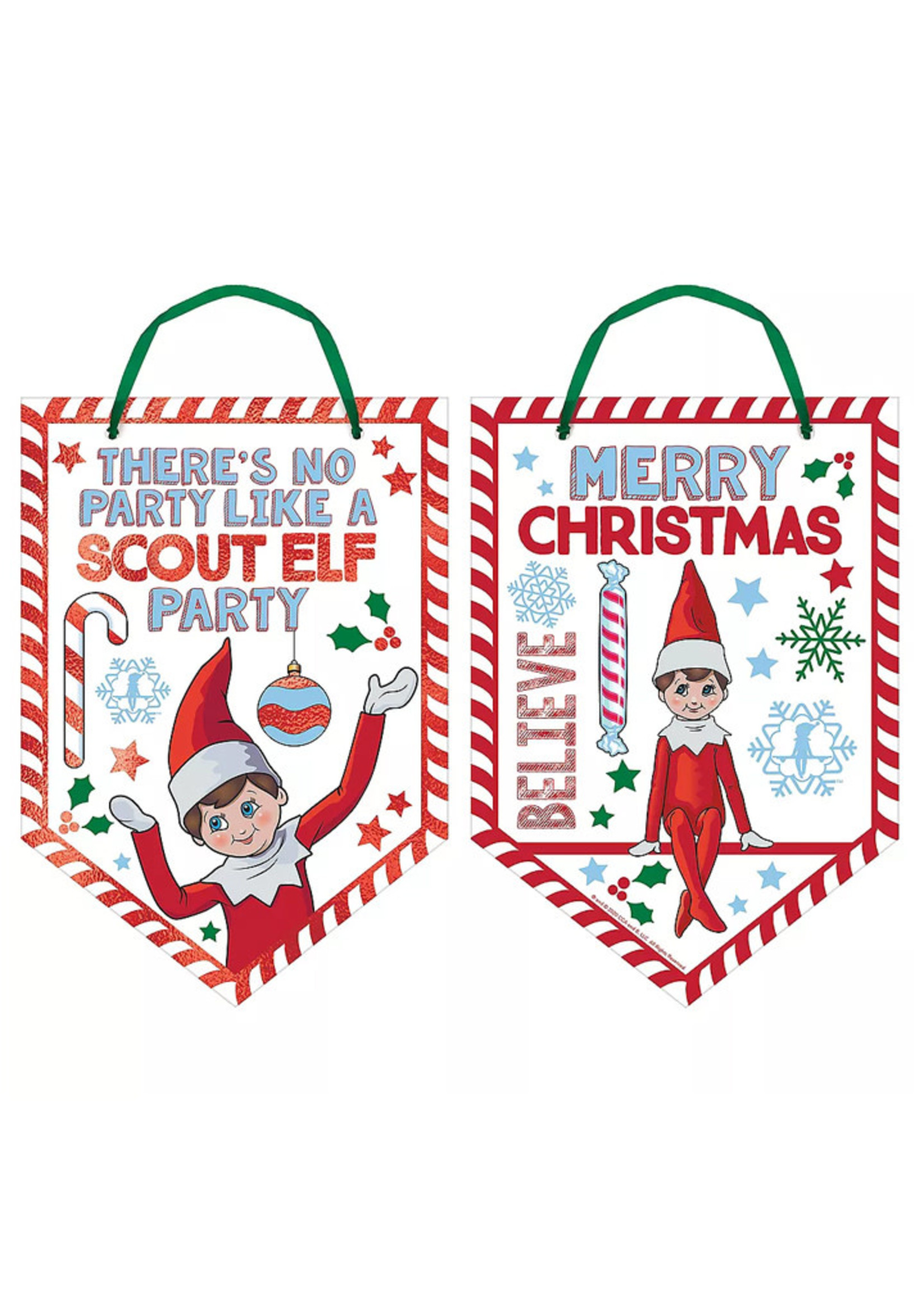 Scout Elf Sign - The Elf on the Shelf