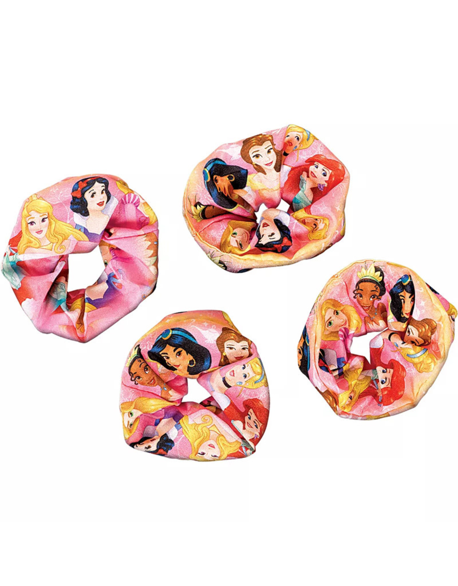 Disney Princess Once Upon a Time Scrunchies 4ct