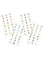 Disney Princess 'Once Upon a Time' Nail Decals (4 sheets)