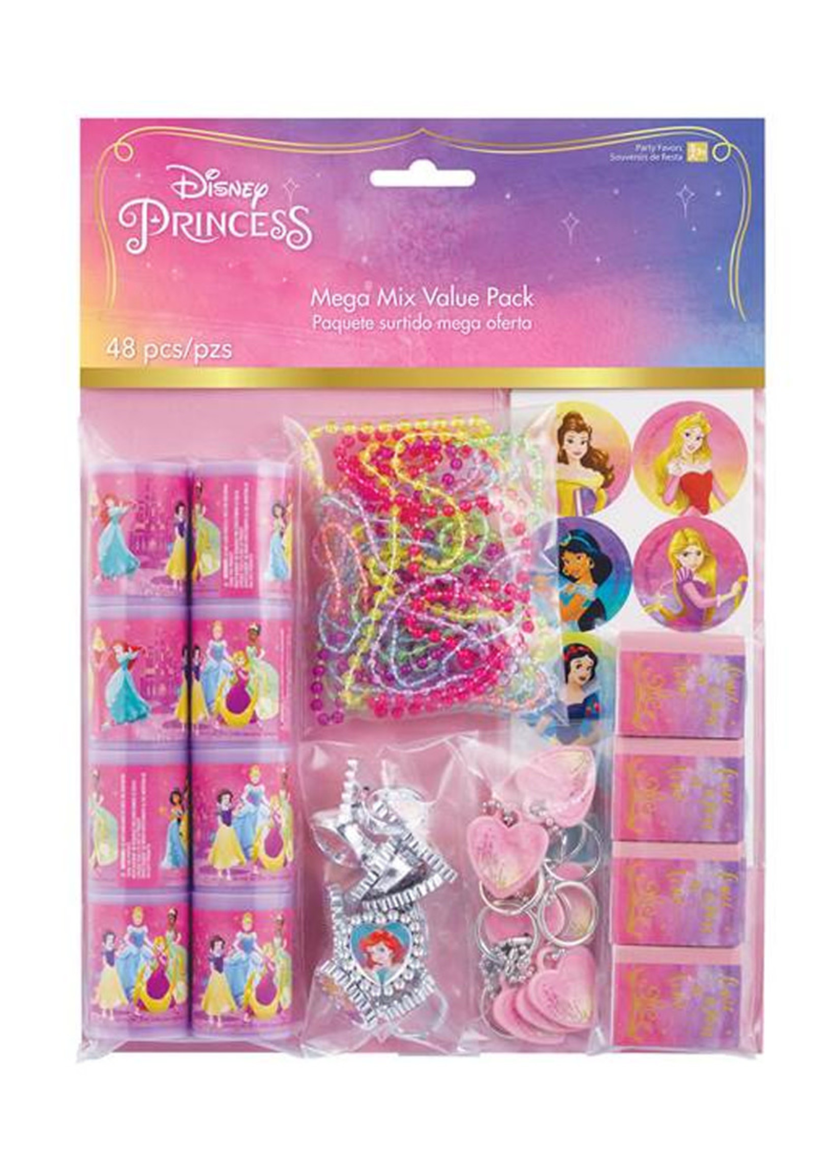 Disney Princess Once Upon A Time Mega Mix Favor Pack