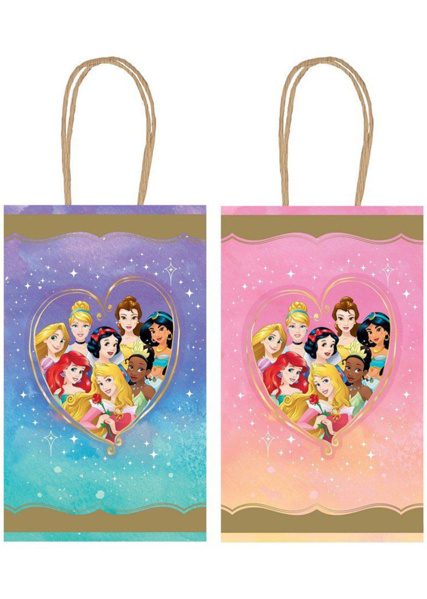 Disney Princess Once Upon A Time Kraft Favor Bags