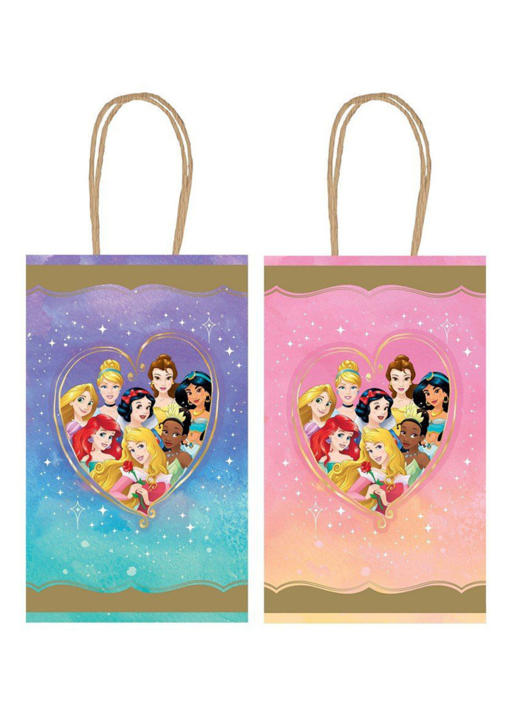 Disney Princess Once Upon A Time Kraft Favor Bags