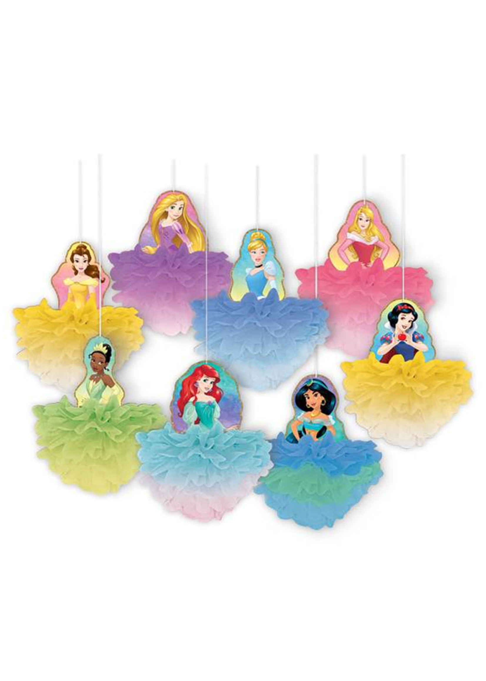 Disney Princess Once Upon A Time Deluxe Fluffy Decorations