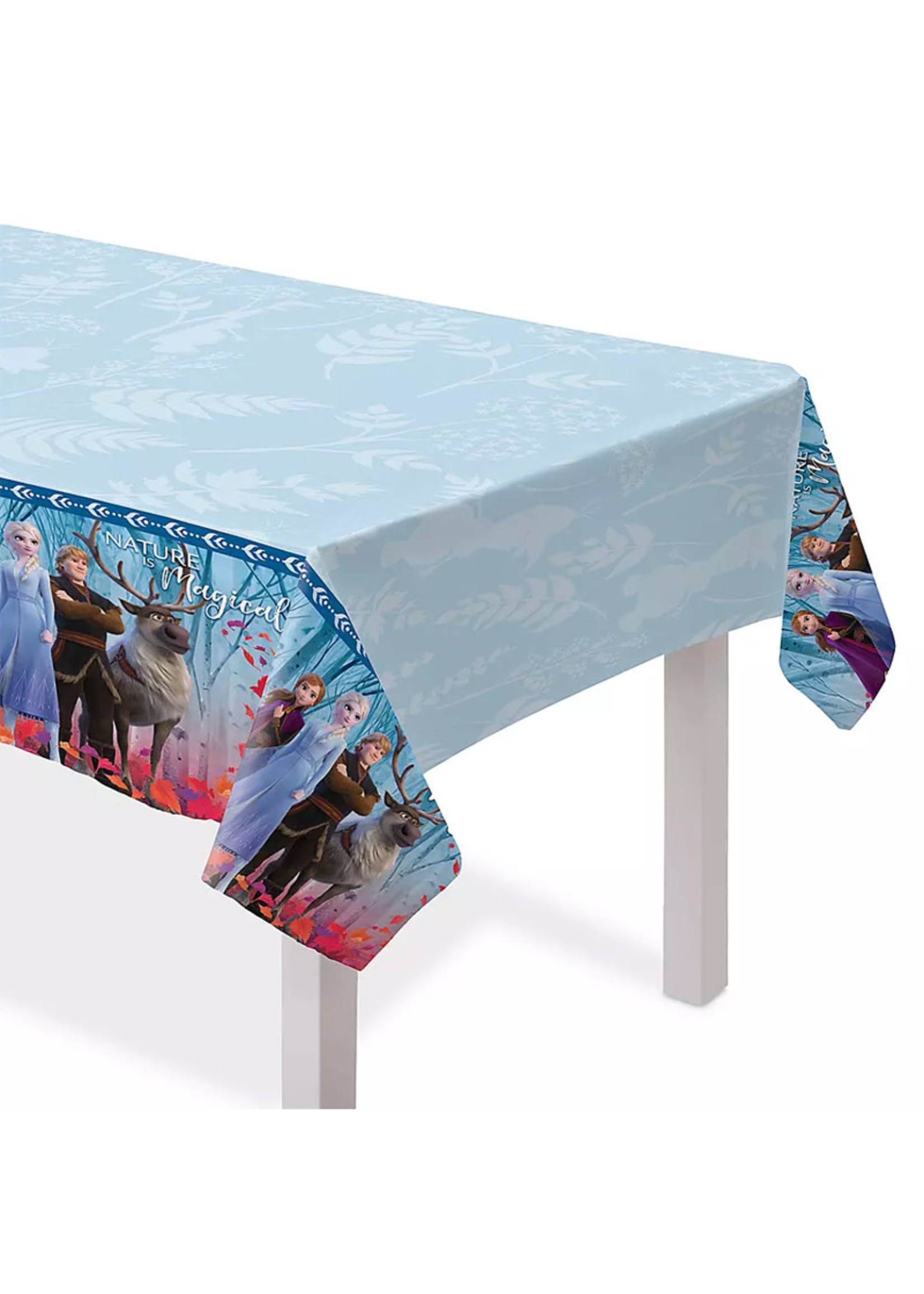 Frozen Plastic Table Cover