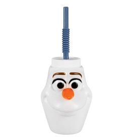 Disney Frozen Olaf Cup with Straw