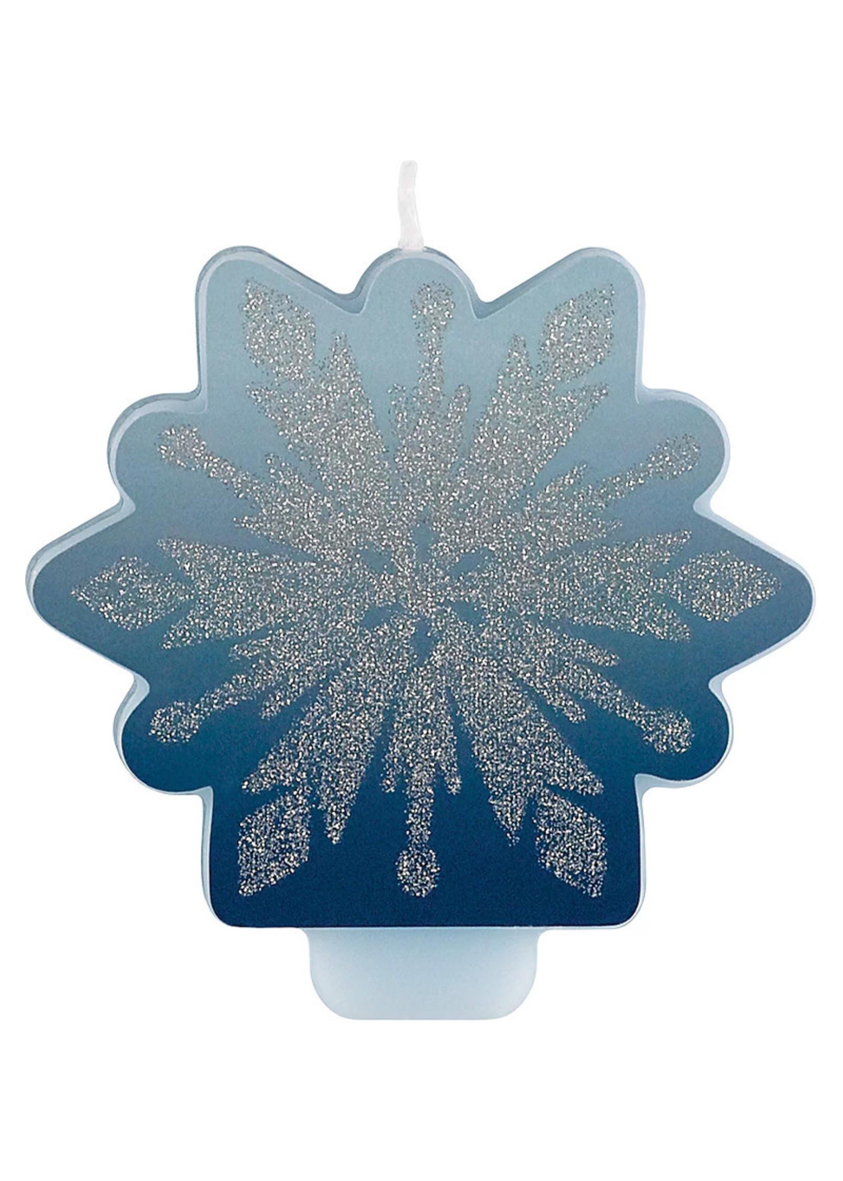 Disney Frozen  Glitter Birthday Candle
