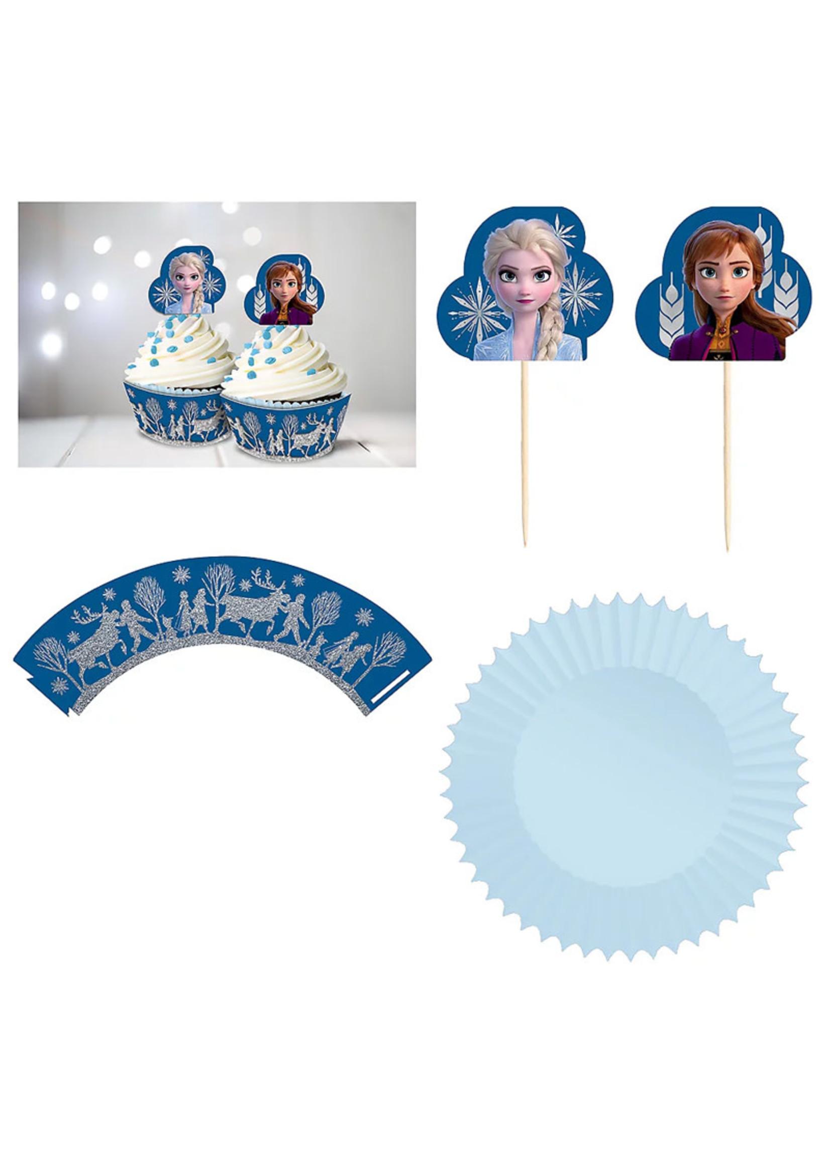Disney Frozen Glitter Cupcake Kit - 24ct