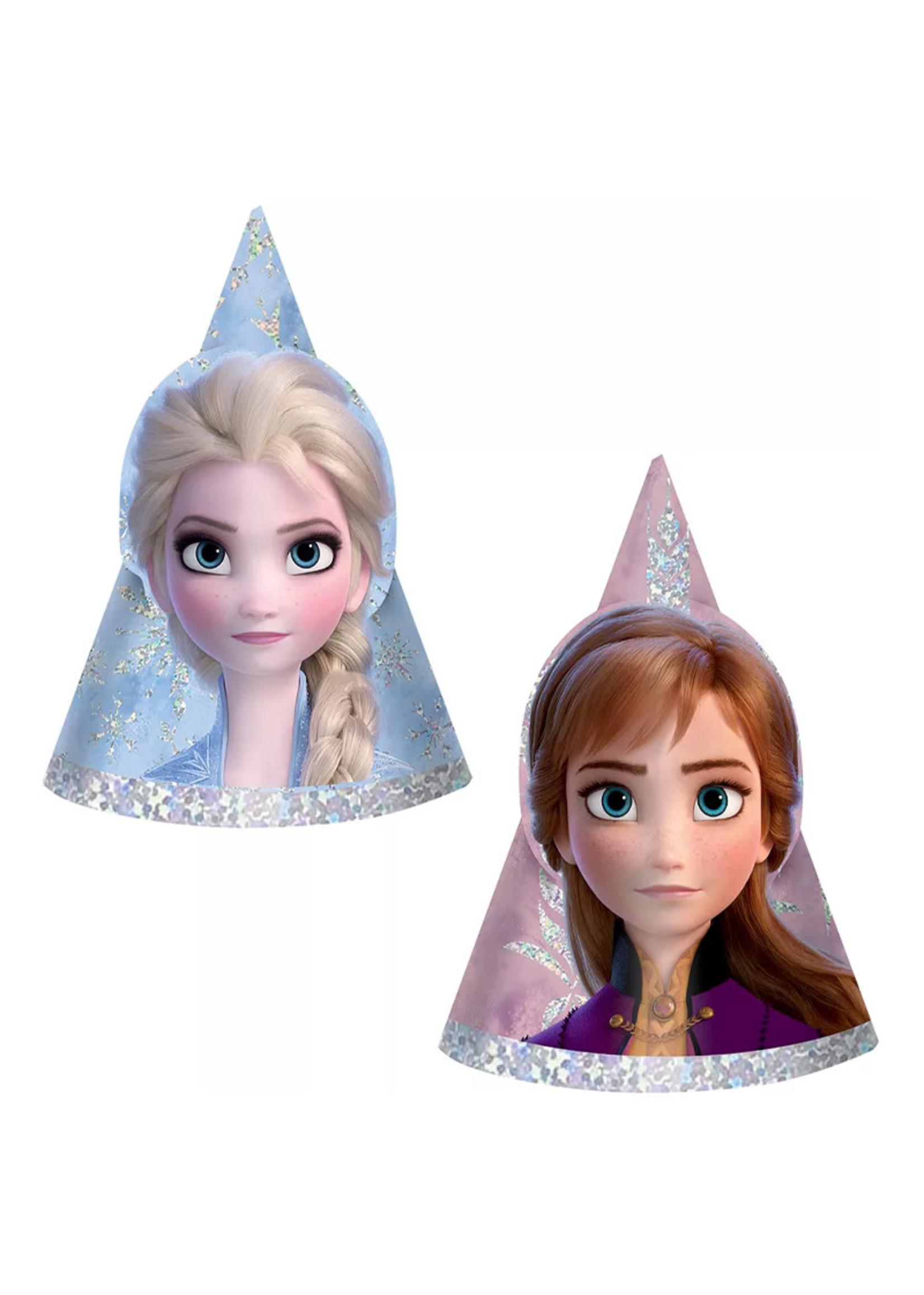 Disney Frozen Mini Prismatic Party Hats 8ct