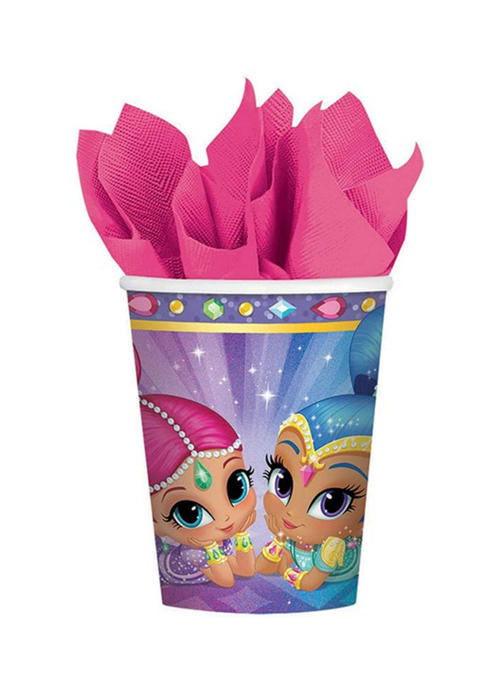 Shimmer and Shine 9oz Cups - 8ct