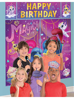 Shimmer and Shine Scene Setter with Photo Booth Props