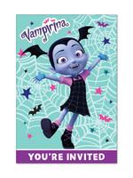 Vampirina Invitations 8ct