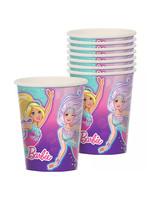 Barbie Mermaid Cups 8ct